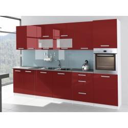 Meble kuchenne TSS + H160 – F - 3,2 m czerwona Goczałkowice-Zdrój, Pszczyna, Czechowice Dziedzice
