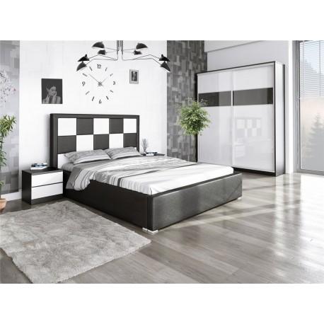 Łóżko SZACHOWNICA 160x200